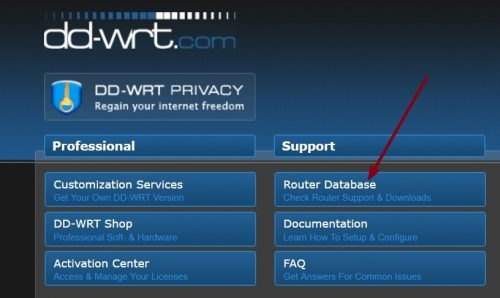 ddwrt-router-database